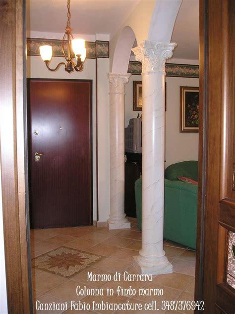colonne in marmo per interni 17 migliori idee su marmo di carrara su