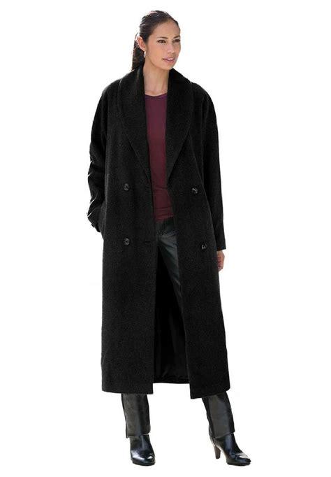 plus size womens plus size coats for women bargain jessica london women s plus size shawl collar coat at