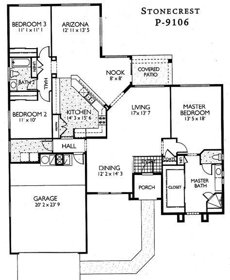 az house plans arizona house plans inspiring arizona house plans 7 sun city grand floor