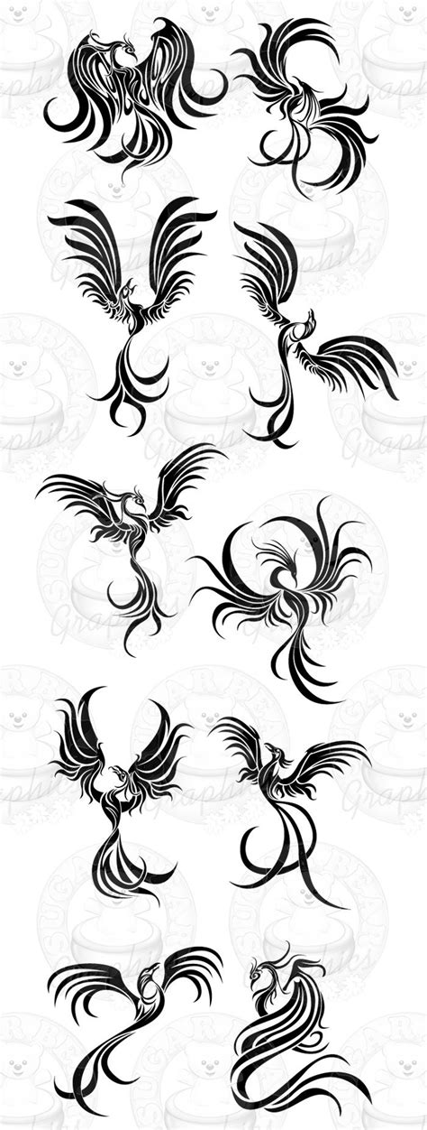 tribal pheonix tattoo tribal designs design and