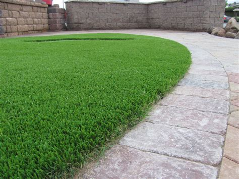 put grass in backyard 7 landscape edging ideas for artificial grass lawns install it direct