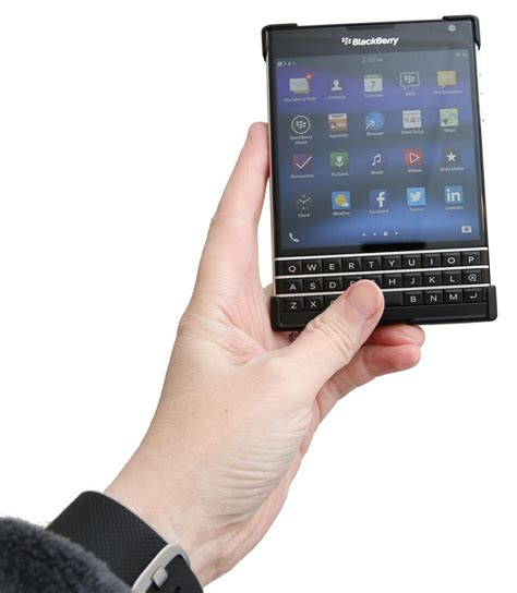 Let Blackberry Tell You Wheres With The Celebritys B List by Blackberry Passport Review The Gadgeteer