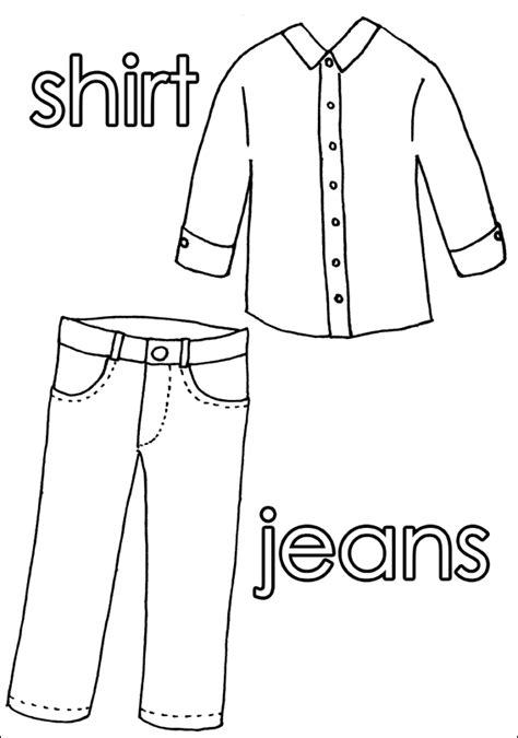 shorts coloring pages