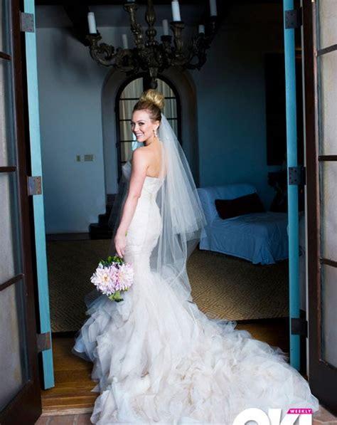 The New Stunning: Celebrity Bride's Wedding Dresses