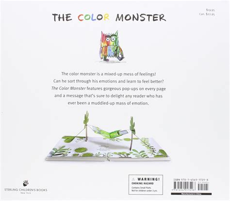 the color monster a my color monster book coloring page