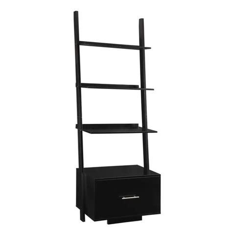 bookcase file drawer in black 8043491bl