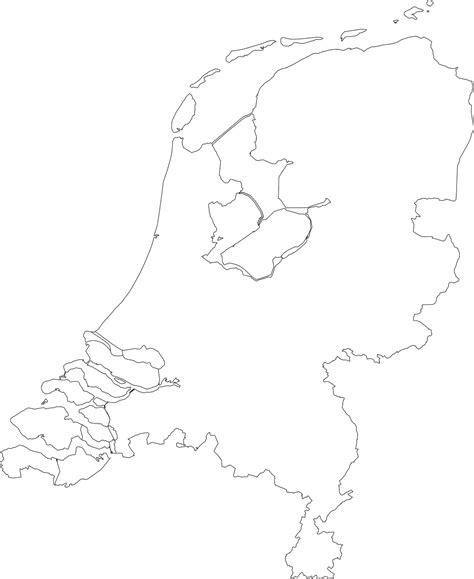 nederland white kaart nederland png rogerlangfordart