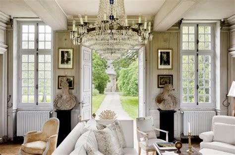 french country home interiors decor inspiration charles spada french chateau interiors cool chic style fashion