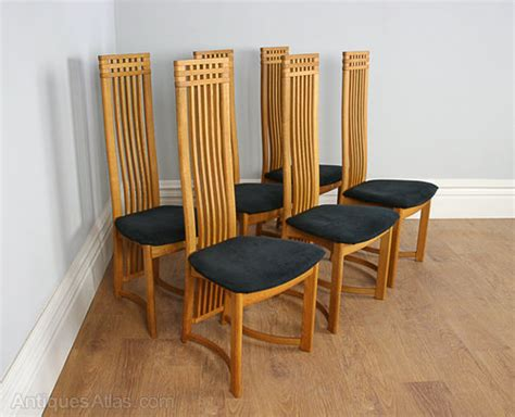 Oak Dining Set 6 Chairs