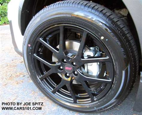 subaru crosstrek black wheels 2018 subaru crosstrek exterior photos