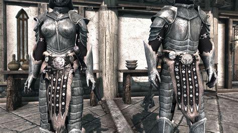 skyrim steel plate armor blueguile s shiny steel plate armor the elder scrolls v