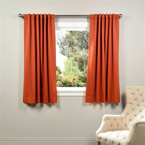 hunter orange curtains exclusive fabrics furnishings blaze orange blackout