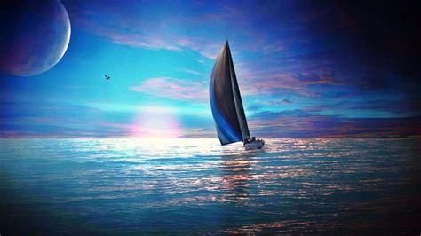 yacht in tagalog segelboot landschaft hd desktop hintergrund widescreen
