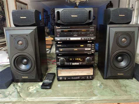 Speaker Mini Hifi technics se ca10 mini hi fi system includes speakers for sale canuck audio mart