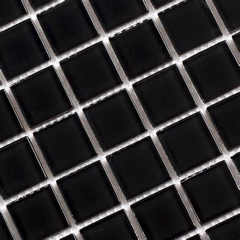 Wholesale Black Crystal Glass Mosaic Tiles Kitchen
