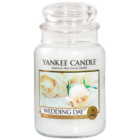 Wedding Anniversary Yankee Candle by Yankee Candle Wedding Day Large Jar Candle Cus Gifts