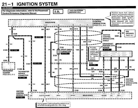 ford explorer ignition wiring diagram wiring diagrams