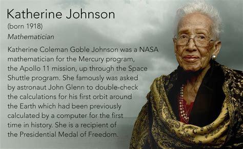 katherine johnson astronaut katherine johnson born 1918 mathematician katherine