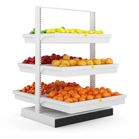 Shelf Of Fruit by Fruit Shelf 3d Model Max Obj Fbx C4d Mtl Cgtrader