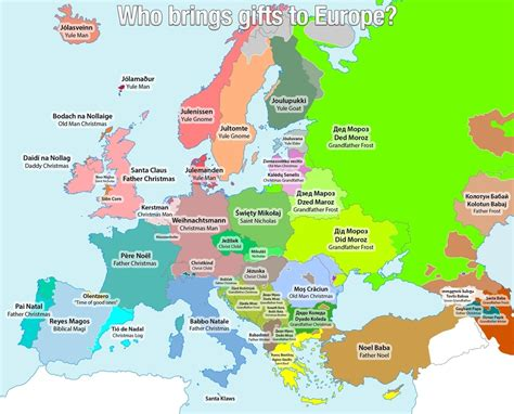 this christmassy map shows all the different names for