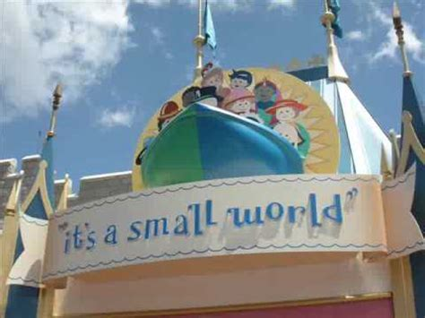 it's a small world ride in walt disney world orlando