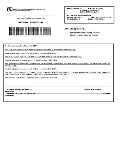 descargar receta medica del imss formato editable zonambuloz receta imss editable wood scribd mexico