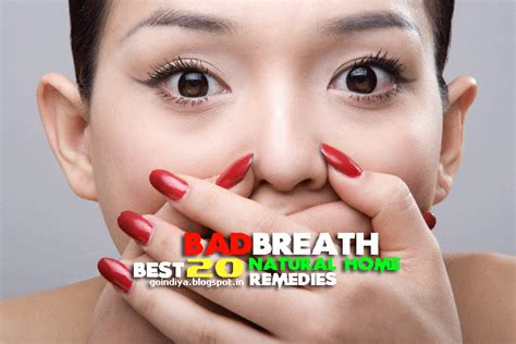 bad breath cure 20 home remedies for bad breath halitosis prevent bad breath naturally 2