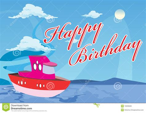 barco del feliz cumplea 241 os foto de archivo imagen 15635500 - Como Hacer Un Bote En Whatever Floats Your Boat