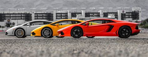 Lamborghini Drivers Drive A Lamborghini In Las Vegas Or Los Angeles