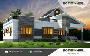 3 Bhk House Plan 1676 Sqft 3 Bhk Single Floor Low Cost Kerala Home Design