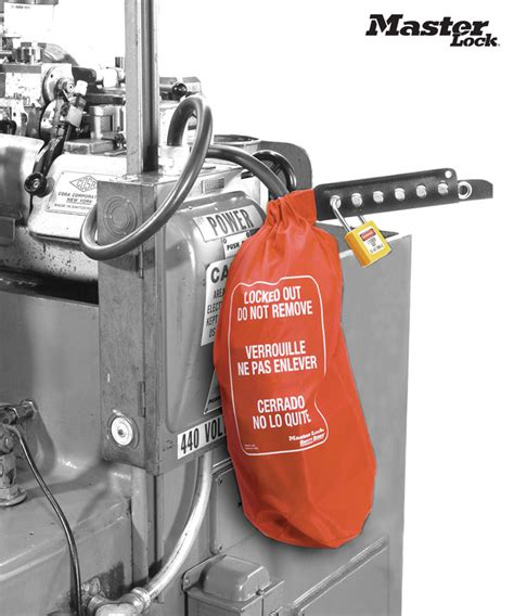 Master Lock 453l Oversize And Hoist Lockout Bag C3108 By Safetysign