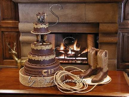 17  ideas about Western Wedding Cakes on Pinterest