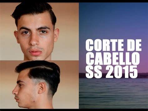 corte de cabello de caballero youtube corte de cabello para hombre primavera 2015 haircut man