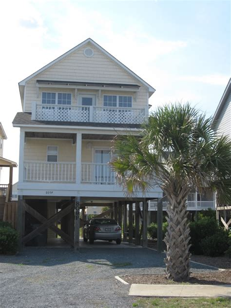 surf city house rentals vacation rental in topsail island surf city nc home