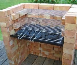 How To Build A Backyard Grill Cool Diy Backyard Brick Barbecue Ideas Amazing Diy Interior Home Design