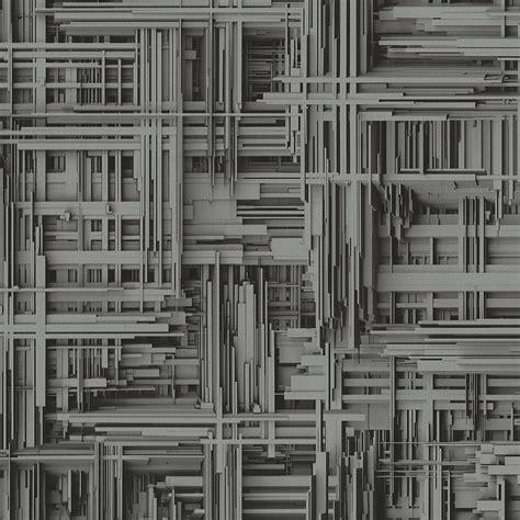 Tile Wall Murals p amp s 3d effect stripe pattern non woven textured wallpaper