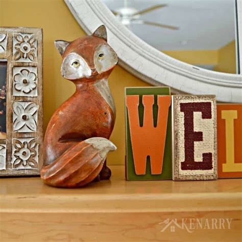 decorating with orange accents for fall fall mantel decor ideas orange and yellow accents