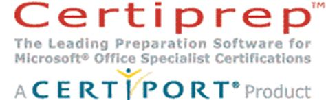 Certiprep Practice Test Study Guide For Microsoft Office