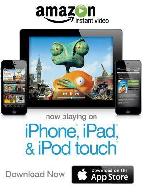 amazon instant video app hits google tv slashgear amazon instant video comes to iphone and ipod touch 9to5mac