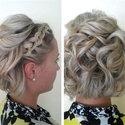 prom hairstyles lace 20 gorgeous prom hairstyle designs for short hair prom