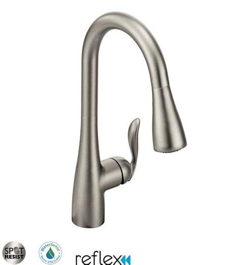 moen arbor kitchen faucet moen 7594c chrome single handle pulldown spray kitchen