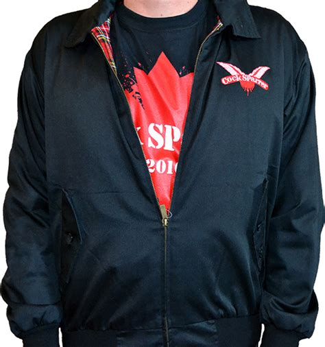 Sparrer Cs 12 sparrer warrior clothing harrington jacket cs