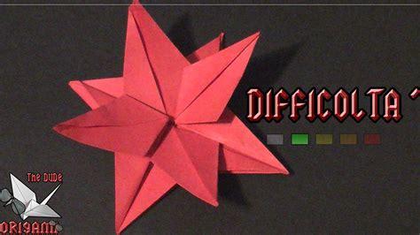 tutorial origami in italiano origami ita fiore stella di natale origami di natale