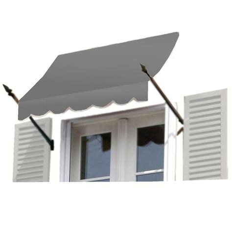 18 foot awning awntech 18 ft new orleans awning 31 in h x 16 in d in