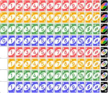 number of cards in phase 10 deck uno card