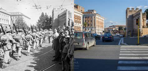 ieri a porta a porta truppe inglesi a porta pia roma ieri oggi