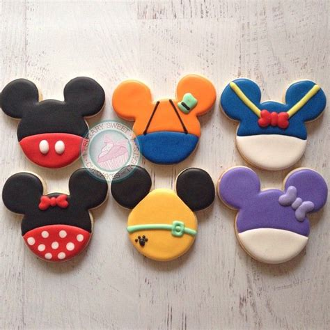 best 25 mickey mouse cookies ideas on