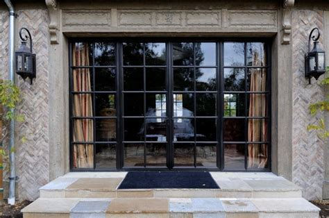 Steel Front Doors With Windows Steel Framed Doors
