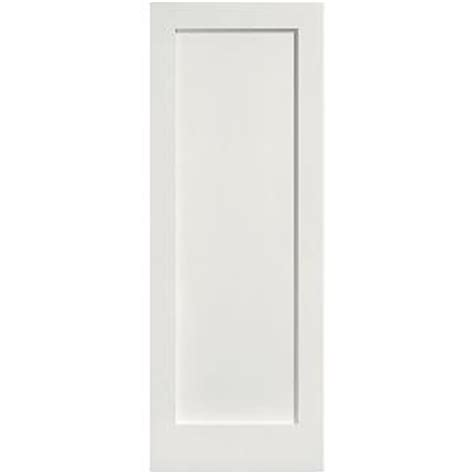 Single Panel Interior Doors Masonite Mdf Series Smooth 1 Panel Solid Primed Composite Single Prehung Interior Door