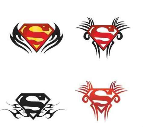 superman chest tattoo designs superman chest lizard